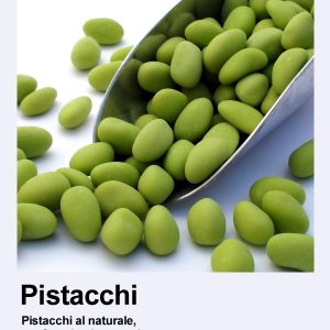 Verde primavera: i pistacchi confettati